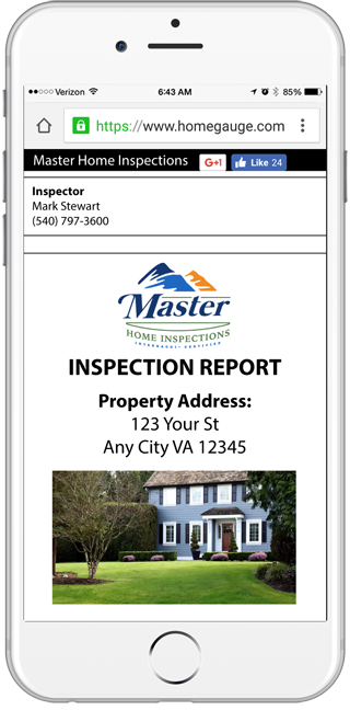 HomeGauge CRL Tool Image home inspections
