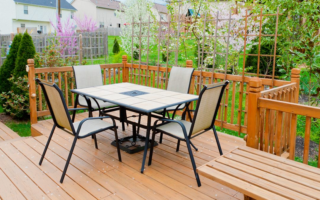wood deck maintenance tasks